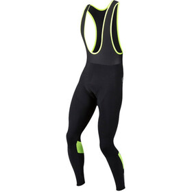 PEARL iZUMi Pur Cuissard à bretelles thermique Homme, black/screaming yellow